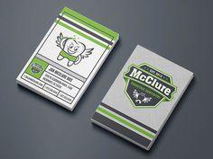McClure Pediatric Dentistry Business Card