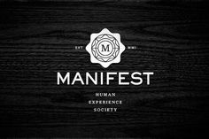 Eight Hour Day » Manifest #black #design #identity #white