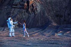 Intergalactic Wedding Photography by Neringa Rekasiute