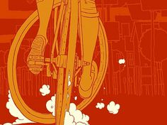 On the Roll Again « what things do #bikes #red #biking #bike #cycling #comics