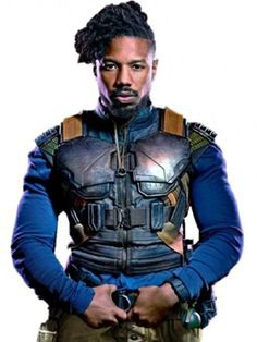 The Black Panther Leather Vest has been as Famous as The Black Panther Movie. This exclusive Jacket is Worn by Michael B. Jordan as Erik Killmonger. Buy Now #michaelbjordan #blackpanther #leathervest #blackpanther #BlackPantherVest #blackpanthercosplay #killmonger #blackpanthercostume #leatherjacket #hollywood #movie #style #movie #fashion #jacket