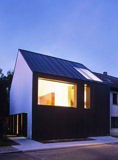 House M&J by Bruno Vanbesien Architects