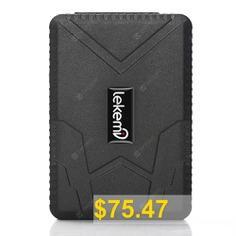 LEKEMI #TK915 #Car #GPS #Tracker #Locator #with #10000mAh #Battery #- #BLACK