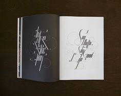NEVERTHELESS 04 on the Behance Network #magazine #typography