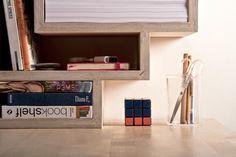 Drap Shelf by Vladimir Alekseev #furniture #design #bookshelf