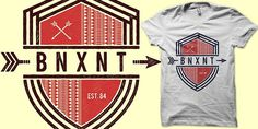 B N X N T T shirt design by binxent Mintees #shirt