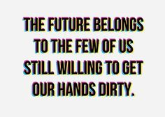 this isn't happiness.™ #future