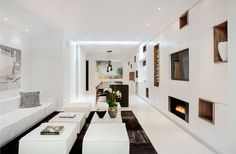 Sustainable Interior Entirely in White