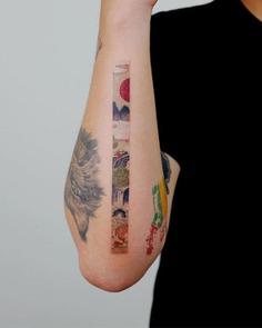 Oriental Frame Tattoo
