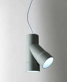 Lamps Inspired By Industrial Tubes -#lamp, #design, #lighting, #productdesign, #industrialdesign, #objects,