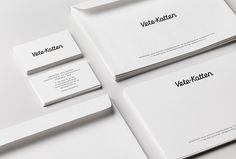 Vete-Katten by The Studio #stationary #branding #white
