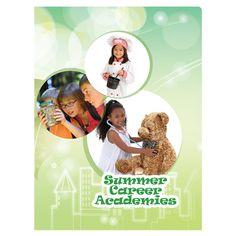 Summer Career Academies Student Pocket Folder