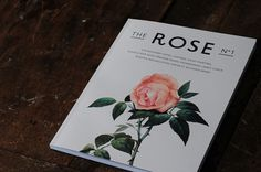 THE ROSE No.1 on the Behance Network #rose #print #the #fashion #layout #qusqus #editorial #magazine