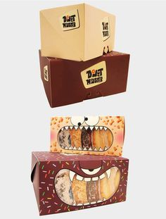 Donut Monster Packaging