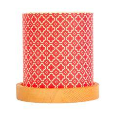 Vintage Red Mini Lantern