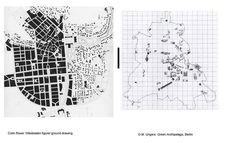 Ungers/ Rowe Comparison #urban