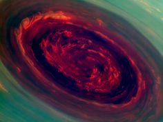 A Hurricane on Saturn