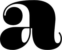 a collection of beautiful letters #encorpada #black