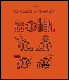To Carve A Pumpkin