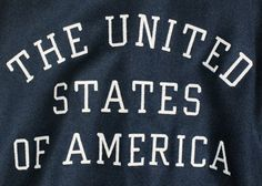 FFFFOUND! | NIKE, Inc. - NIKE reveals USA Medal Stand footwear and apparel #usa #typography