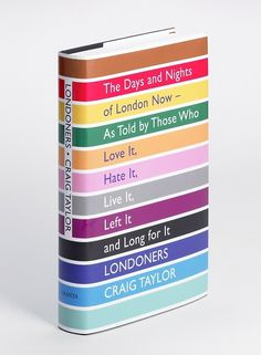 FUEL › GRAPHIC DESIGN › LONDONERS #design #book