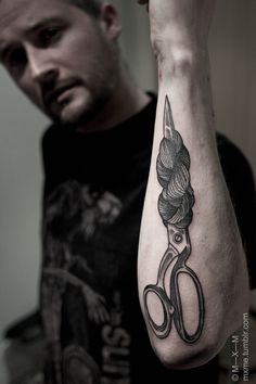 mxme tattoo #tattoo #ink #scissors #mxme