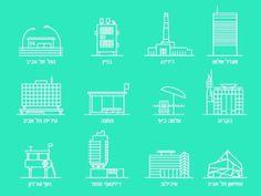 Tatz - Public transport app #infographic #app #icons