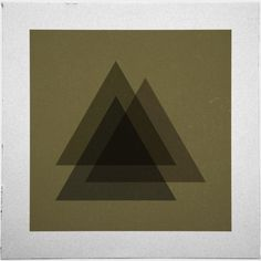 Geometry Daily #geometry #simplicity #geometric #simple #artwork #triangle #minimal #poster