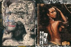 FAB Spotlight: Peter Beard by Olumide S Akingbade « FAB BLOG #peter #beard #collage