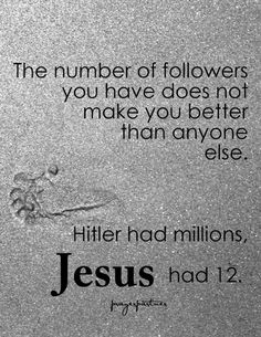 Follow Jesus. #jesus #christian #typography
