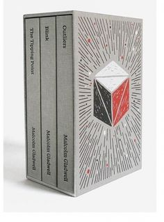 Paul Sahre: Selected Work: Malcolm Gladwell Collected #illustration #book #covers