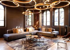 Henge Showroom in Milan - #design, #furniture, #modernfurniture, #decor, #interior,
