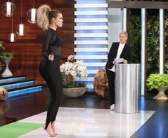 Khloe Kardashian on The Ellen Show