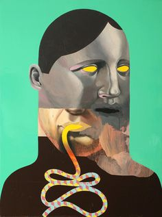 Michael Reeder | PICDIT #painting #artist #face #art