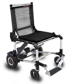 Zinger is not only the world's lightest wheelchair but also the most easy to fold, store, and move around at a speed of 6 mph! #wheelchair #product #design #industrial