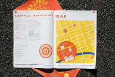Melbourne BikeFest | SouthSouthWest #bicycle #bike #map #publication