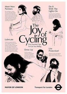 The Joy of Cycling - Jamie Wieck - Design, Illustration & Creative Thinking #cycling #illustration