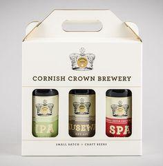 Cornish Crown Case #packaging #beer