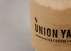 Matthew Hancock #graphic design #logo #logotype #tea #cup #coffee #rubber stamp #marque #the click #union yard #matthew hancock