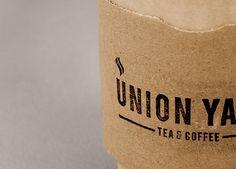 Matthew Hancock #logotype #stamp #hancock #rubber #yard #union #click #design #graphic #marque #the #matthew #tea #coffee #logo #cup