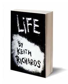 Life Benny Moore #richards #redesign #book #drugs #cover #coca #keith