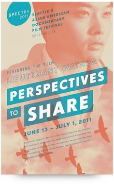 UW Design Show 2011 | Rachel Wan #american #design #graphic #asian #poster #film