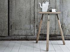 HIGH WOODEN STOOL RAFT BARSTOOL NA4 RAFT COLLECTION DESIGN BY JONAS BJERRE-POULSEN, KASPER RØNN | &TRADITION #interior #steel #design #stool #wood #bar