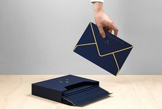 The Yachtsetter by Anagrama #print #graphic design #stationary #envelope