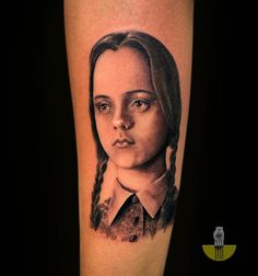 Wednesday Addams #tattoos