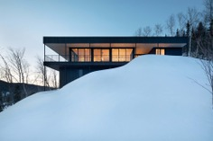 Residence Long View by Bourgeois / Lechasseur Architects