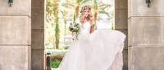 Rustic wedding dresses are brimming with simplicity and naturalness, just like those charming vintage wedding dresses.