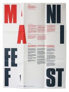 FFFFOUND! | Dark side of typography #graphic design #typography #manifesto
