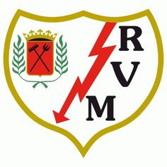 Rayo Vallecano Primary Logo () #spain #crest #soccer #sports #type