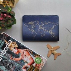 Stitch Passport Cover Mark every country you've been to with this Stitch Passport Cover. It is a real leather cover perforated in the shape of the world map, so every country visited can be marked with a cross. It comes with a 'travel' and thread, ready to use on your travels!